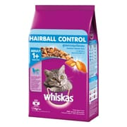 WHISKAS Hairball Control Chicken & Tuna Adult 1+yr 1.1kg