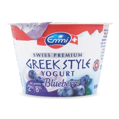 EMMI Greek Style Yogurt - Blueberry 150g