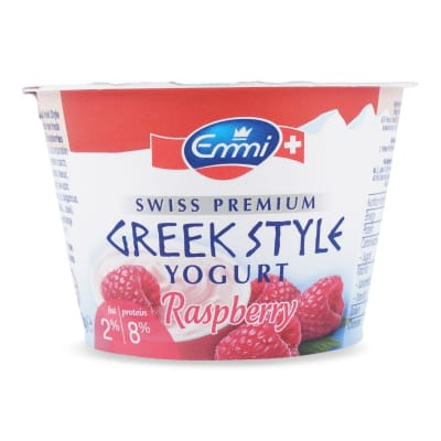 Greek Style Yogurt - Raspberry 150g