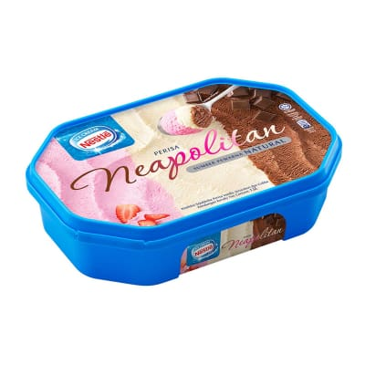 NESTLE Neapolitan Tub Ice Cream 1.5L