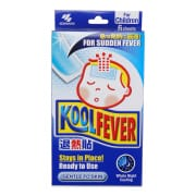 KOBAYASHI Cool Fever Gel Sheet 6s