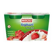 Yoghurt Non Fat Strawberry 2sX140g