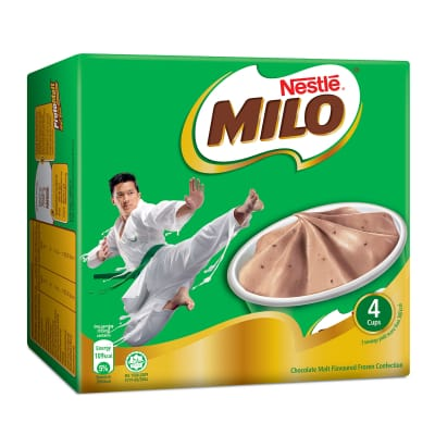 NESTLE Milo Cup Multipack Ice Cream 4sX105ml