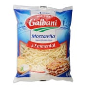 Shredded Mozzarella Emmental 170g