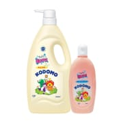 Baby Bath Milk 1L + 200ml Promo Pack