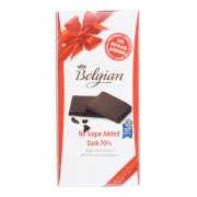 NO SUGAR ADDED DARK 70% CHOCOLATE