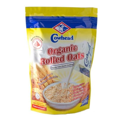Organic Rolled Oats - Regular 500g
