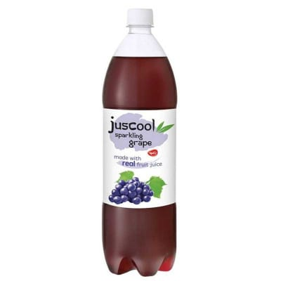 Yeo's JusCool Sparkling Grape Juice Drink