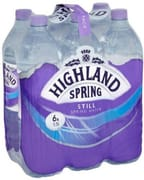 Natural Spring Water 6sX1.5L
