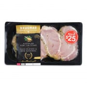 Pork Loin Steak With Herb & Dijon 400g