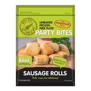 Party Bites Unbaked Free Flow Sausage 640g