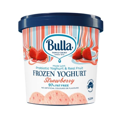 Frozen Yoghurt Strawberry 1L