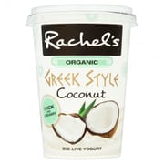 RACHELS Organic Greek Style Yoghurt with Coconut