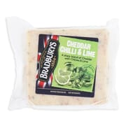 Cheddar Chilli & Lime 200g