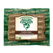 Organic Breakfast Maple Chicken Sausage Gluten Free