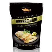 Frozen Barramundi Fillet Lemon Herb Butter 340g