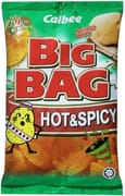 Big Bag Potato Chips Hot & Spicy 165g