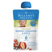 Organic Berries, Cinnamon & Apple 120g
