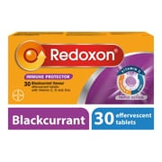 Triple Action Effervescent Tablets Blackcurrant 30s