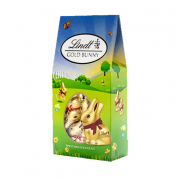 Gold Bunny Chocolate Canister