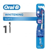 ORAL B 3d white soft manual toothbrush 1 count
