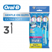 UltraThin Dual Clean (Extra Soft) Toothbrush 3s