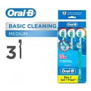 Complete Easy Clean (Medium) Toothbrush 3s