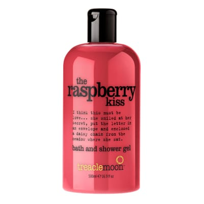 The Raspberry Kiss Bath And Shower Gel 500ml
