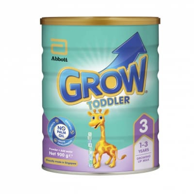 Toddler Growing Up Milk Formula Stage 3 (1-3 Yrs Old) 900g