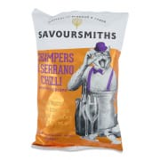 Champers & Serrano Chilli Potato Crisps 150g