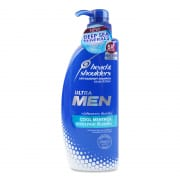 Ultra Men Shampoo Cool Menthol 480ml