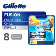 Fusion ProShield Chill Razor Cartridges Refill 8s