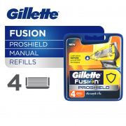 Fusion ProShield Manual Razor Cartridges Refill 4s