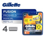 GILLETTE Fusion ProShield Manual Razor Cartridges Refill 4s