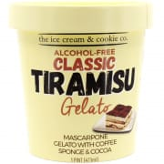 Classic Tiramisu With Coffee Gelato Pint 473ml