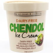 Chendol Ice Cream With Pandan Jelly Pint 473ml