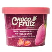 Choco Fruiz Frozen Strawberry Coated With Chocolate Flavour 70g