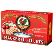 Mackerel Fillets In Tomato Sauce 125g