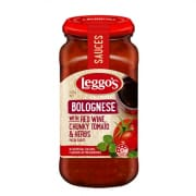 Bolognese With Red Wine, Chunky Tomato & Herbs 500g