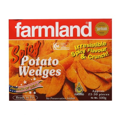 Potato Wedges Spicy 500g