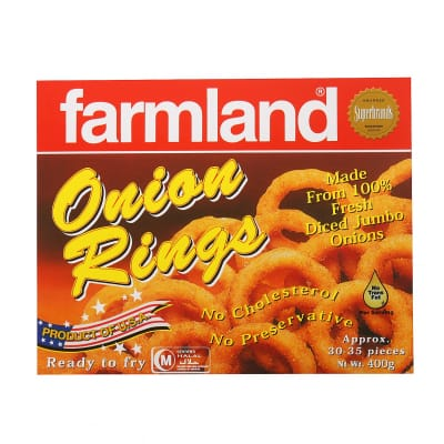 Babystar Pre.Formed Onion Rings 400G