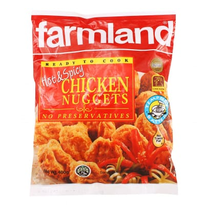 Farmland Frozen Chicken Nuggets - Hot and Spicy