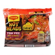 Hot Heads Tom Yum Flavor Mee Goreng 380g