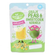 Freeze Dried Green Peas & Sweet Corn 14g