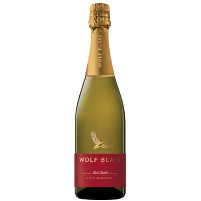 Wolf Blass Red Label Pink Moscato Sweet Refreshing