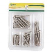 Tapping Screw Chrome Set 1256