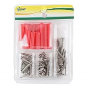 Tapping Screw Chrome Set 1257