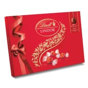 LINDT Lindor Milk Chocolate Gift Box 168g