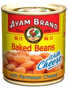 Ayam Brand Baked Beans with Parmesan Cheese