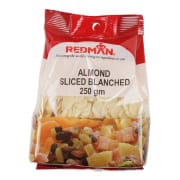 Almond Sliced Blanched 250g